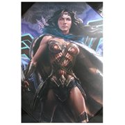 Batman v Superman: Dawn of Justice Wonder Woman Poster Wood Wall Art