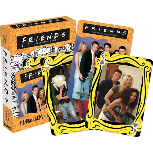 Friends Cast Playing Cards