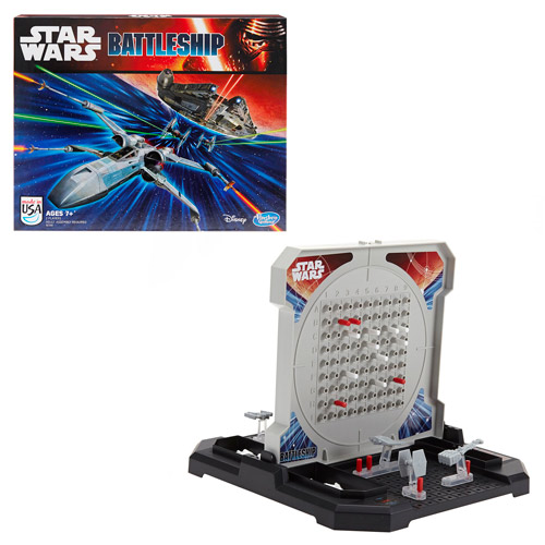 Star Wars: The Force Awakens Battleship Game