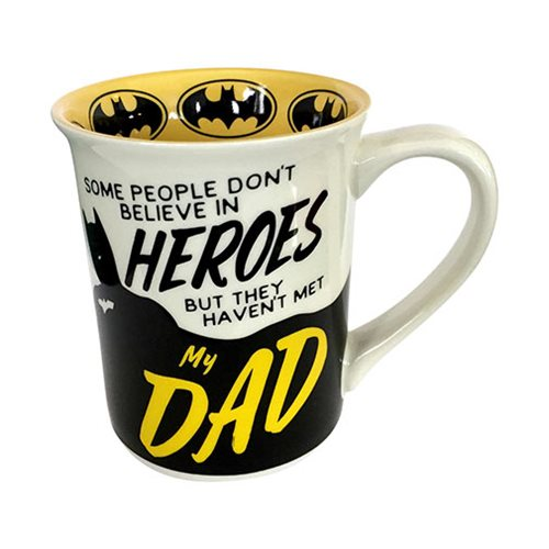 DC Comics Batman Dad Heroes 16 oz. Mug