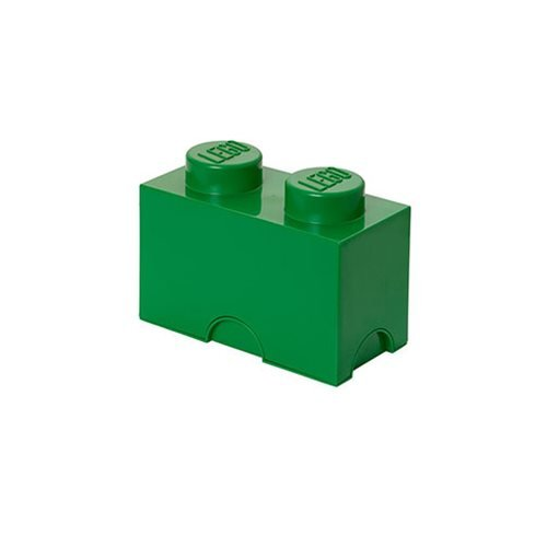 LEGO Dark Green Storage Brick 2