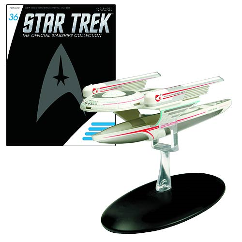 Star Trek Starships Oberth Class Vehicle with Collector Magazine