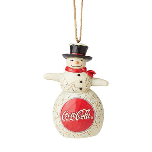 Coca-Cola Snowman by Jim Shore Ornament