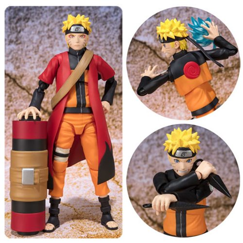 Naruto Uzumaki Naruto Sage Mode Advanced Version SH Figuarts Action Figure P-Bandai Tamashii Exclusive