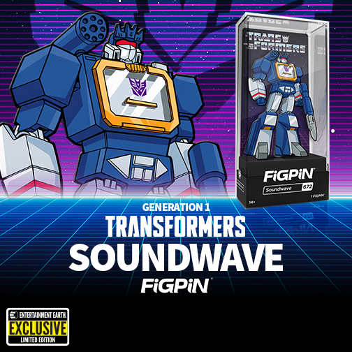 Soundwave Figpin
