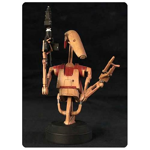 Star Wars Security Battle Droid Mini Bust