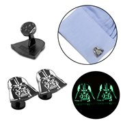 Star Wars Darth Vader Helmet Glow in the Dark Cufflinks