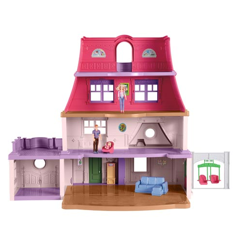 Fisher-Price Loving Family Dollhouse with Figures Playset