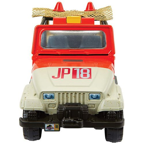 Jurassic World: Fallen Kingdom Matchbox Jeep Wrangler with Net