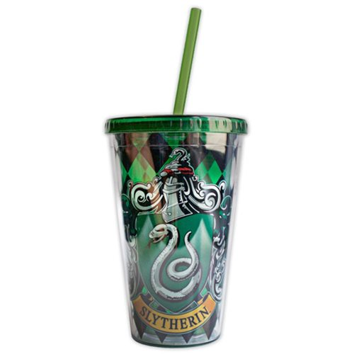 Harry Potter Slytherin House Crest Travel Cup