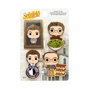 Seinfeld All Character Enamel Pop! Pin 4-Pack