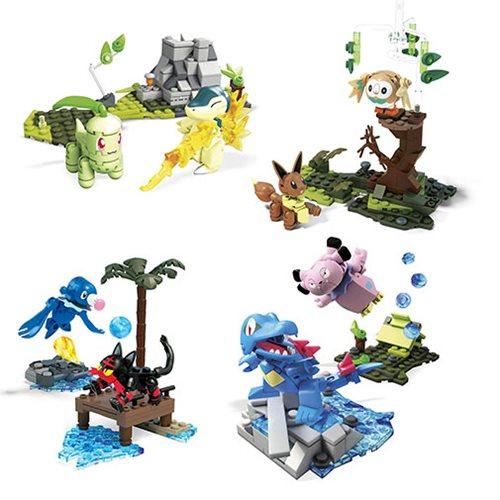 Mega Construx Pokemon Battle Set Wave 6 Case