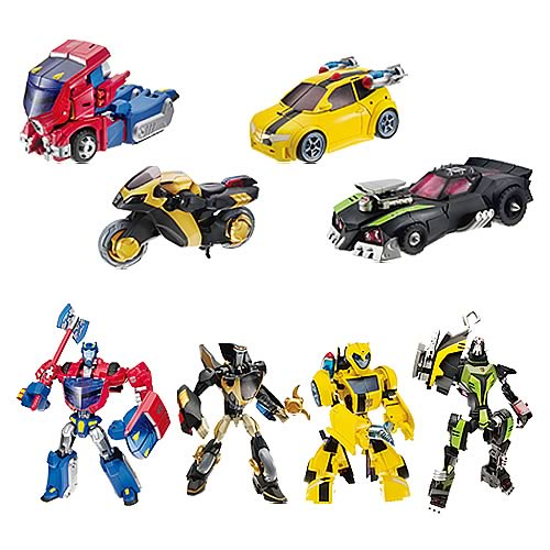 Transformers Animated Deluxe Figures Wave 1