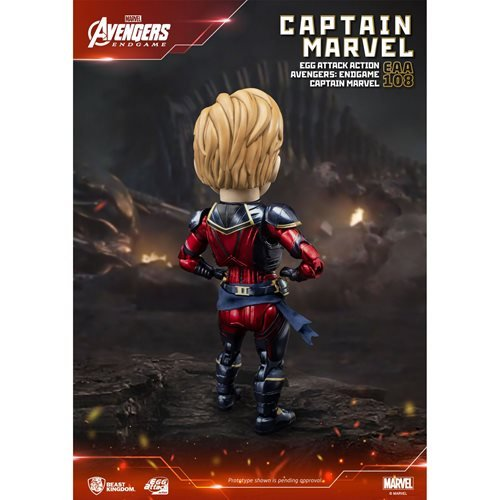 Avengers: Endgame Captain Marvel EAA-108 Egg Attack Action Figure