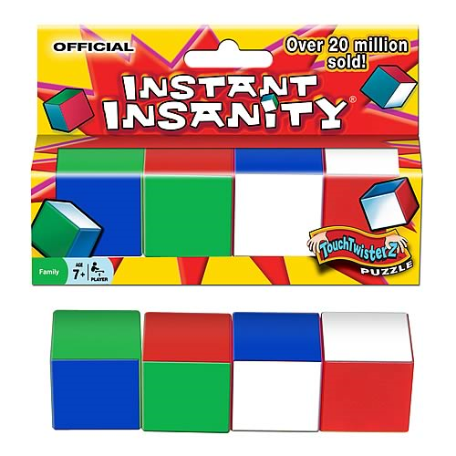 Instant Insanity Game