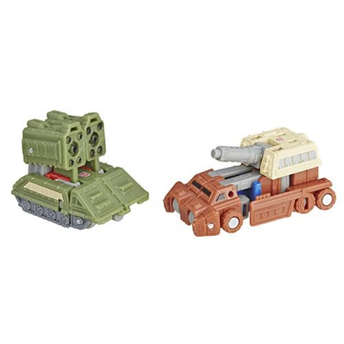 Transformers Generations War for Cybertron: Siege Micromasters Autobot Battle Patrol Flask and Bigsh