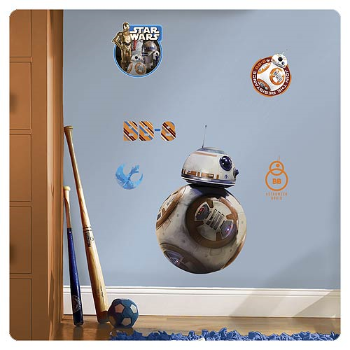 Star Wars: Episode VII - The Force Awakens BB-8 Giant Wall Decal