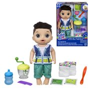 Baby Alive Sweet Spoonfuls Brunette Baby  Boy Doll