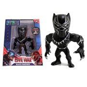 Captain America Civil War Black Panther 4-Inch Metals Die-Cast Action Figure