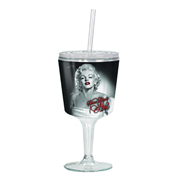 Marilyn Monroe Hot Insulated Goblet with Lid