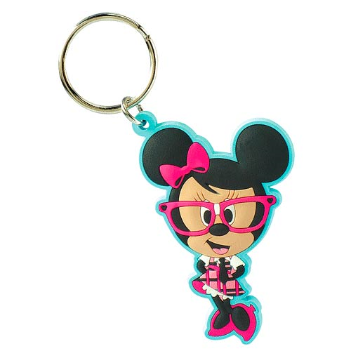 Minnie Mouse Disney Nerds Soft Touch Key Chain