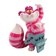 Disney Showcase Alice in Wonderland Cheshire Cat This Way Mini Statue