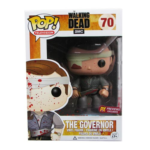 The Walking Dead Pop! Vinyl Governor Bloody Version Figure