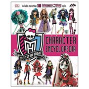 Monster High Character Encyclopedia Hardcover Book