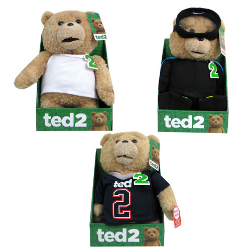 Ted 2 11-Inch R-Rated Talking Plush with Outfits Case