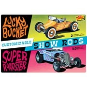 Customizable Street Rod 2-pack 1:32 Scale Model Kit
