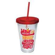 Sesame Street Elmo Have You Hugged A Monster Today? Plastic Travel Cup