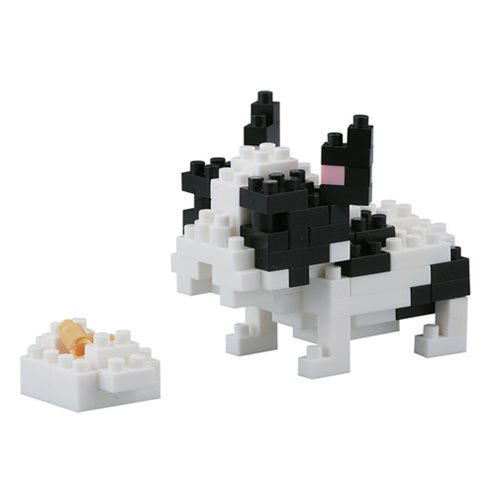French Bulldog Nanoblock Constructible Figure