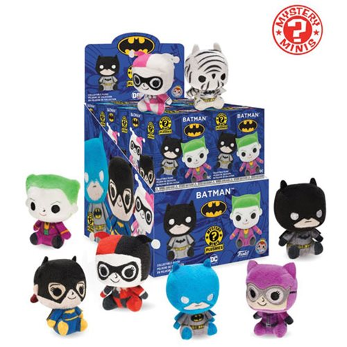 Batman Mystery Mini Plush Display Case
