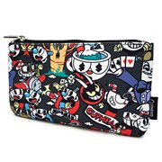 Cuphead Character Print Coin Bag