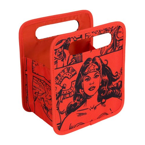 Wonder Woman Comic Storage Tote Bag