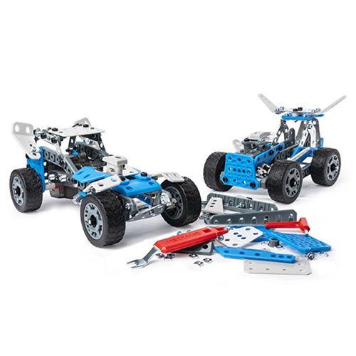 Erector by Meccano Rally Racer 10-in-1 Model Building Kit