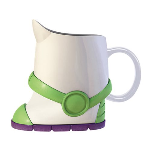 Toy Story 4 Woody and Buzz Boots Sculpted Ceramic Mini Drinkware 2-Pack