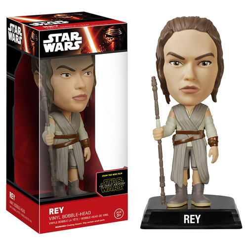 Star Wars: Episode VII - The Force Awakens Rey Bobble Head