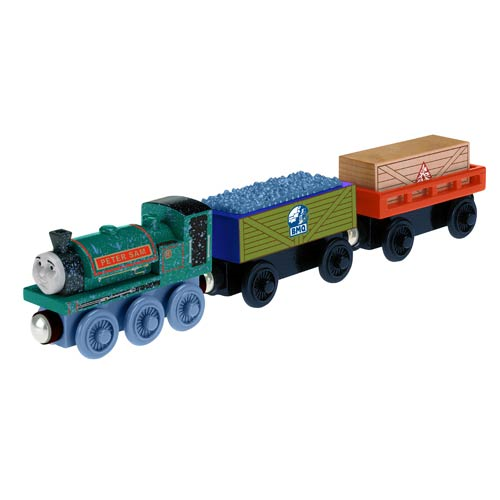Thomas Wooden Railway Peter Sam's Dynamite Delivery 3-Pack
