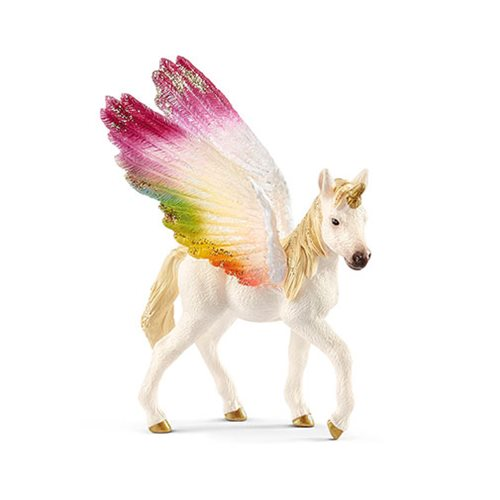 Bayala Winged Rainbow Unicorn Foal Collectible Figure
