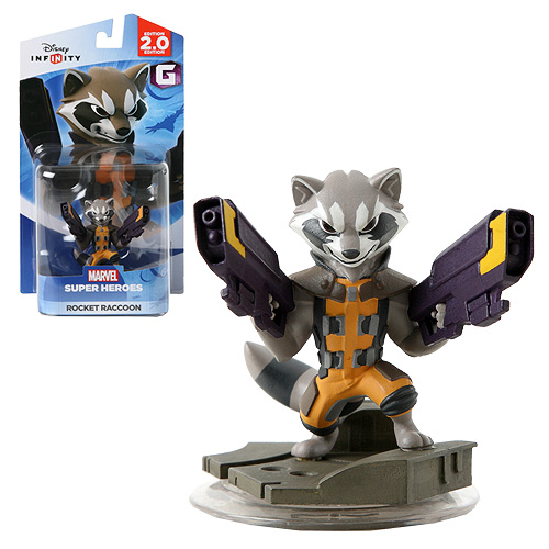 Disney Infinity 2.0 Marvel Super Heroes Rocket Raccoon Figure