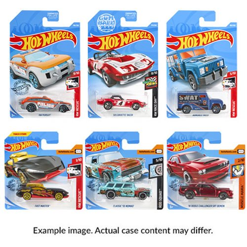 Hot Wheels Worldwide Basic Cars 2019 Wave 3 Case
