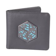 Minecraft Metal Diamond Ore Bifold Wallet