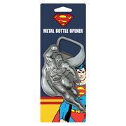 Superman In Flight Metal Bottle Opener