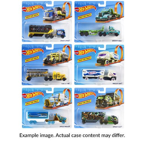 Hot Wheels Track Trucks Wave 1 Case