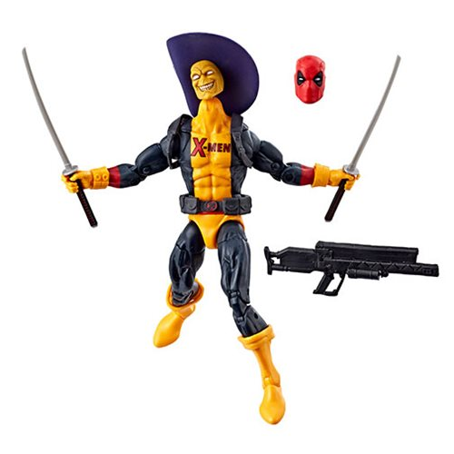 Deadpool Marvel Legends 6-Inch Deadpool in X-Men Shirt Action Figure, Not Mint