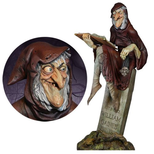 EC Comics GhouLunatics The Old Witch Statue