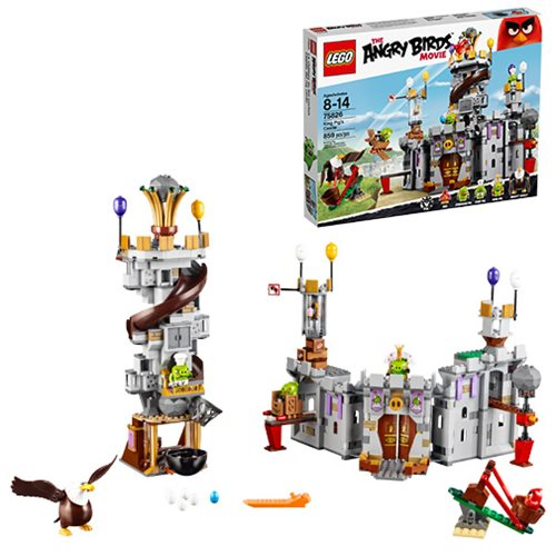 LEGO Angry Birds 75826 King Pig's Castle