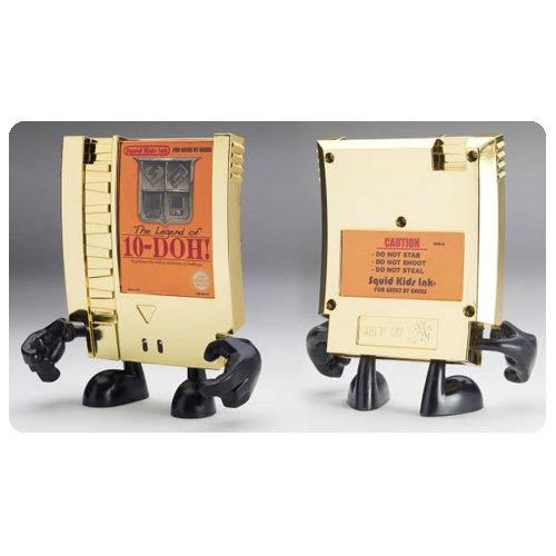 10-Doh! Legend of 10-Doh! Gold Edition Video Game Cartridge Vinyl Figure
