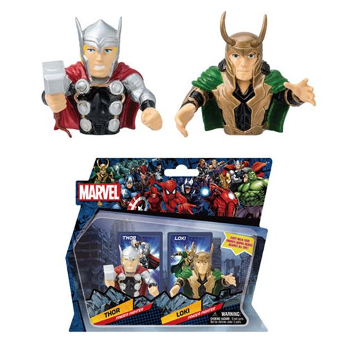 Marvel Thor Vs. Loki Finger Fighter 2-Pack Set #3
